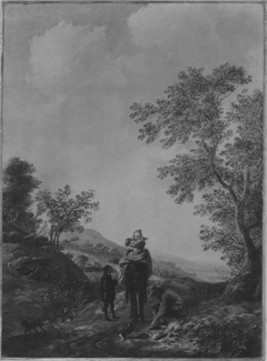 Landschaft mit Jagdgruppe (Art des)