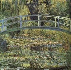 Le Bassin aux Nymphéas, harmonie verte
