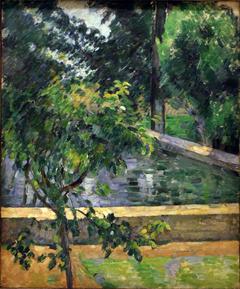 Le bassin du Jas de Bouffan (The Pool at Jas de Bouffan)