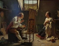 Le peintre et son modèle