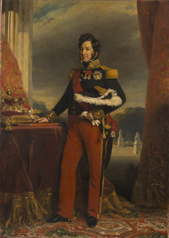 Louis Philippe I in the uniform of the General Officer