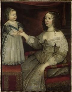 Louis XIV et Anne d'Autriche