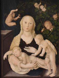 Madonna in the Vine Arbour