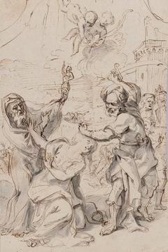 Martyrdom of Saint Barbara.