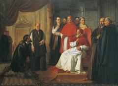 Michel Ange et Jules II