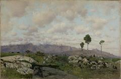 Mountainous Landscape (Sierra de Guadarrama)