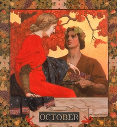October (cover illustration for Harper's Magazine)