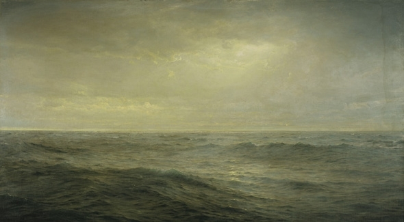 Old Ocean's Gray and Melancholy Waste