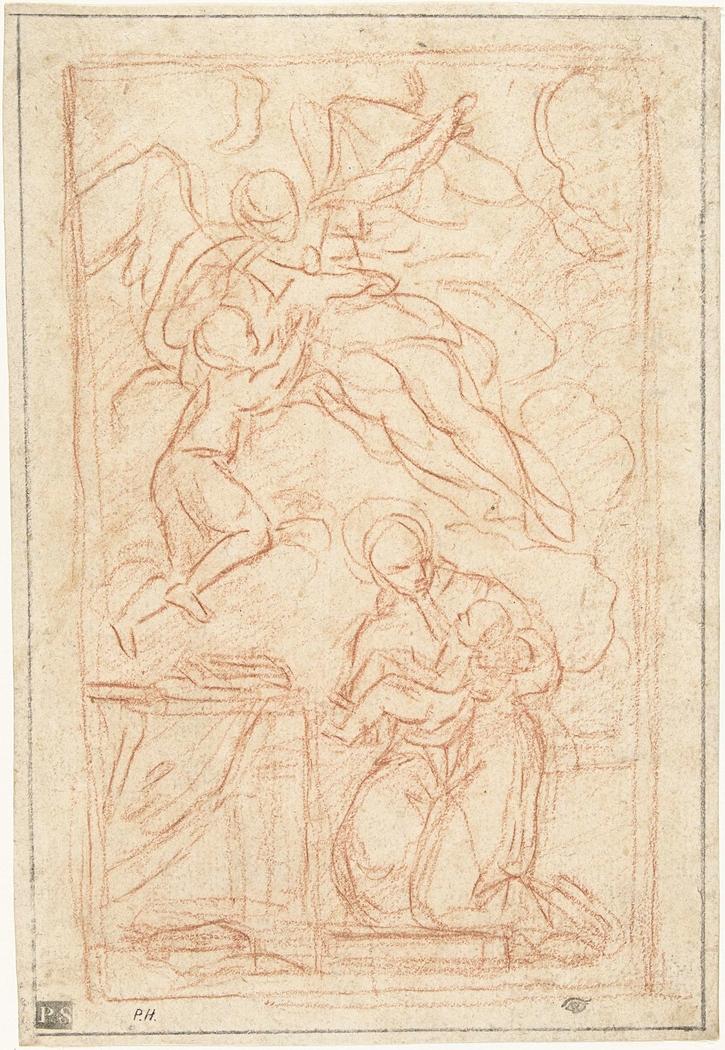 Ontwerp voor een altaarstuk met Sint Antonius van Padua