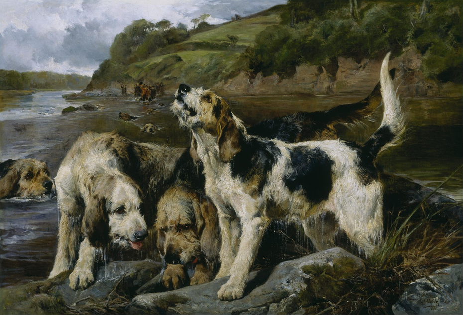 """Otter Hunting (""""On the Scent"""")"""