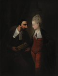 """Portia and Shylock, from Shakespeare's """"The Merchant of Venice"""", IV, i"""