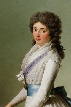 Portrait de la baronne de Chalvet-Souville, née Marie de Broutin, Vincent