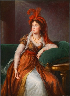 Portrait de la princesse Anna Alexandrovna Golytsyna