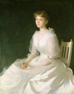 Portrait in White