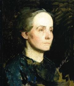Portrait of a Woman (Miss Gertrude Bloede)