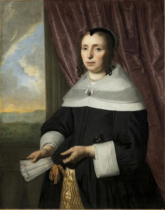 Portrait of a Woman (pendant of INV 1333)