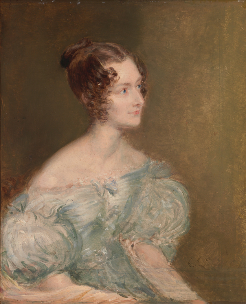 Portrait of a Woman, Probably Mrs. Price of Rugby