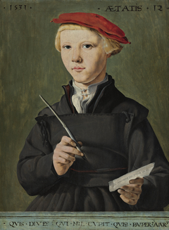 Portrait of a Young Scholar