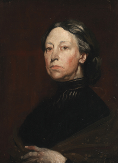 Portrait of Augusta Gregory (1852-1932), Dramatist and Folklorist