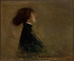 Portrait of Bronisława Ostrowska