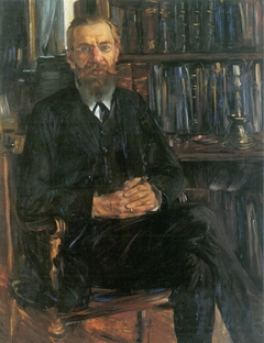 Portrait of Dr Edward Meyer (1855-1930), German historian