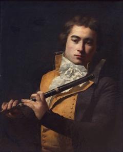 Portrait of flutist François Devienne