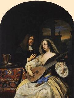 Portrait of François de le Boë (Sylvius) and his Wife