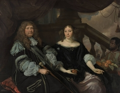 Portrait of Jan van Amstel and his wife Anna Boxhoorn