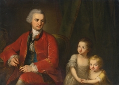 Portrait of John Apthorp of Boston and his Daughters