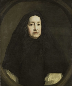 Portrait of Katharine Elliot (died 1688), Dresser of Duchess Anne of York and First Woman of the Bedchamber of Queen Mary of Modena, the first and second Wives of James II of England, respectively