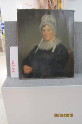 Portrait of Mrs. Lydia Yates Burr