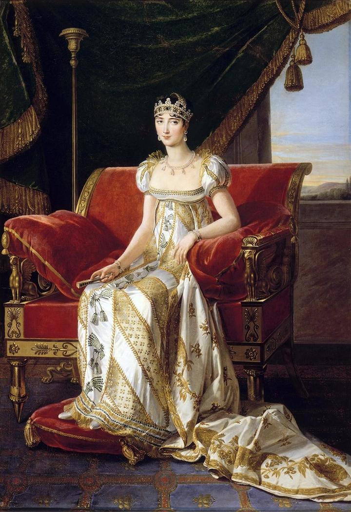 Portrait of Pauline Bonaparte princess Borghese