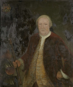Portrait of Petrus Albertus van der Parra, Governor-General of the Dutch East India Company