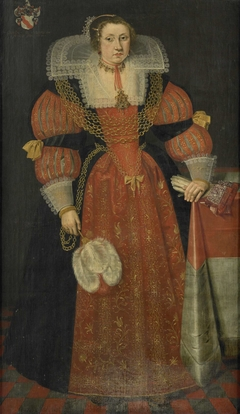 Portrait of Sophia de Vervou (Saepke or Sophia de Vervou)
