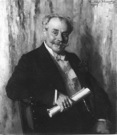 Portrait of the actor Ernst Tourniarie (1849 - 1921)