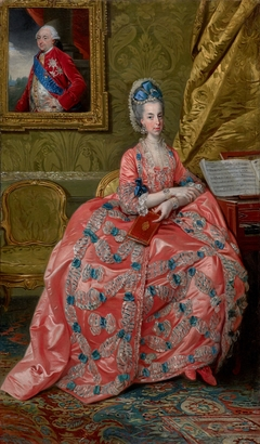Portrait of the Archduchess Maria Amalia of Austria, Duchess of Parma