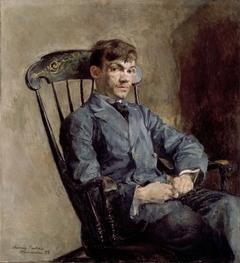 Portrait of the Composer Johan Backer Lunde