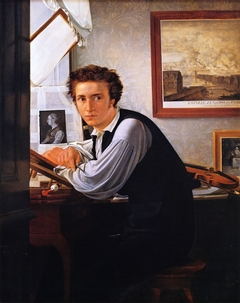 Portrait of the Copperplate Engraver Carl Edvard Sonne