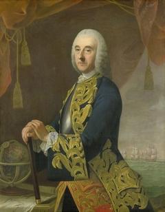 Portrait of Vice-Admiral Hendrik Lijnslager, Son of Harmen Lijnslager and Judith Allijn