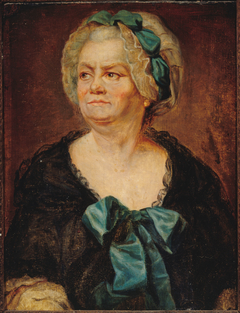 Portrait présumé de Madame Ducreux, la mère de l'artiste Anciennement identifié comme celui de Marie Louise Mignot (1712-1790), dite Madame Denis, nièce de Voltaire