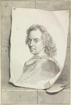 Portret van David van der Plaes
