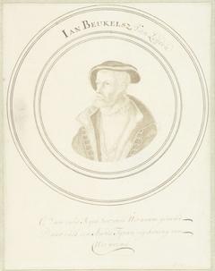 Portret van Jan Beukelsz. van Leyden