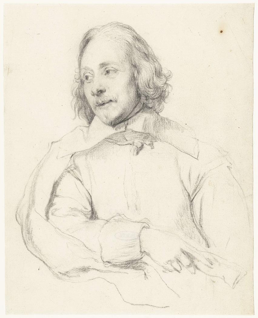 Portret van Robert van Voerst