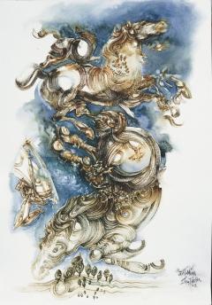 POTEIDAN (POSEIDON ) , HIPPIOS RULER OF THE SEAS