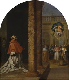 Recognition of the Carthusian Saint  Cardinal Niccolò Albergati