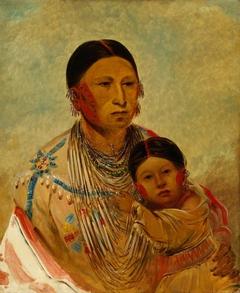 Ru-ton-ye-wee-ma, Strutting Pigeon, Wife of White Cloud