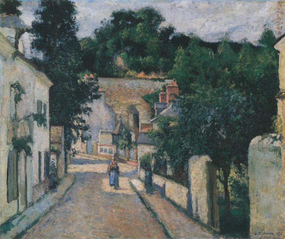Rue du Haut-de-l'Hermitage, Pontoise
