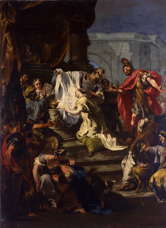Sacrifice of the Daughter of Jephte