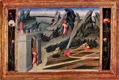 Saint John the Baptist retiring to the Desert