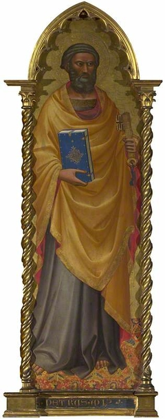 Saint Peter: Left Main Tier Panel